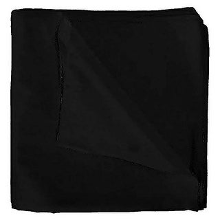 Solid 100% Polyester Unisex Bandana (Option: Orange)