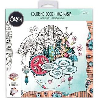 Sizzix Coloring Book-Imaginasia By Katelyn Lizardi