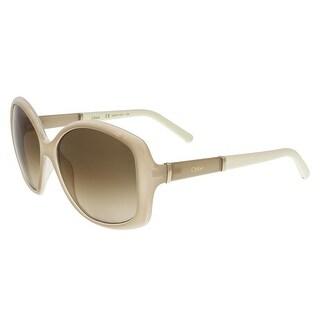 Chloe CE663/S 273 Light Turtledove Square Sunglasses