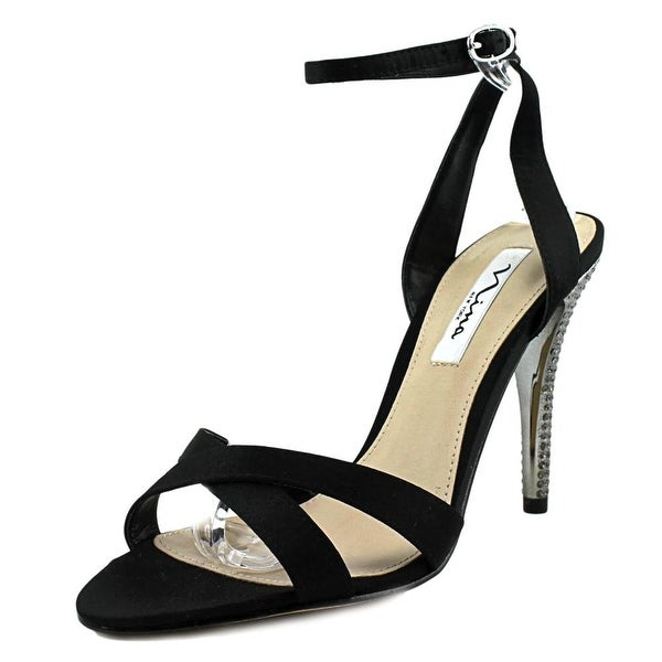 Nina Meryly Women Black Sandals