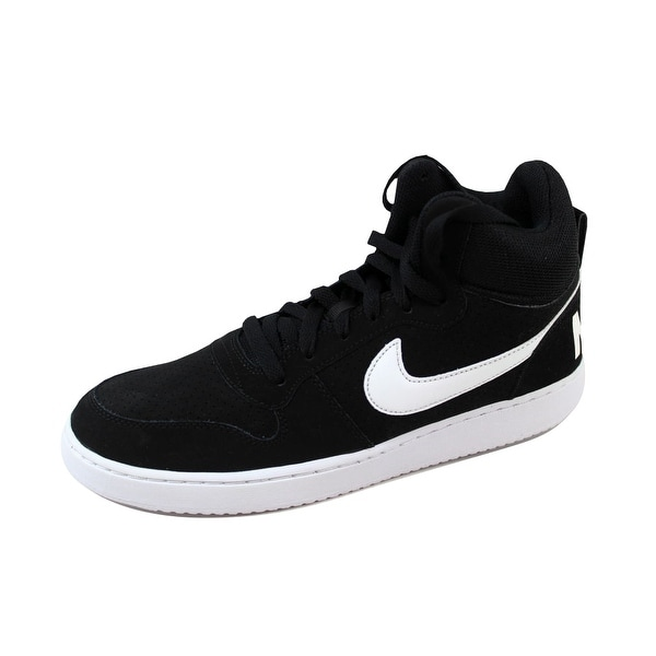 f290c83c4ab4f Nike Men  x27 s Court Borough Mid Black White 838938-010 Size. Click to Zoom