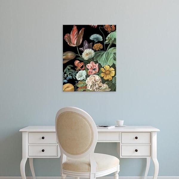 Easy Art Prints Melissa Wang's 'Baroque Floral I' Premium Canvas Art