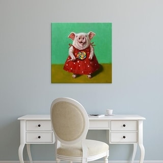 Easy Art Prints Lucia Heffernan's 'Sticky' Premium Canvas Art