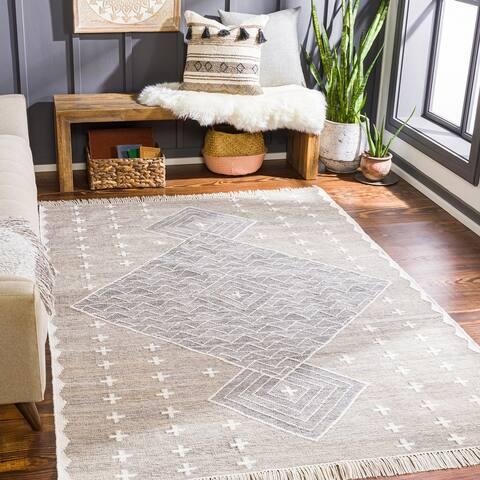 Mojgan Handmade Indoor/ Outdoor Global Area Rug