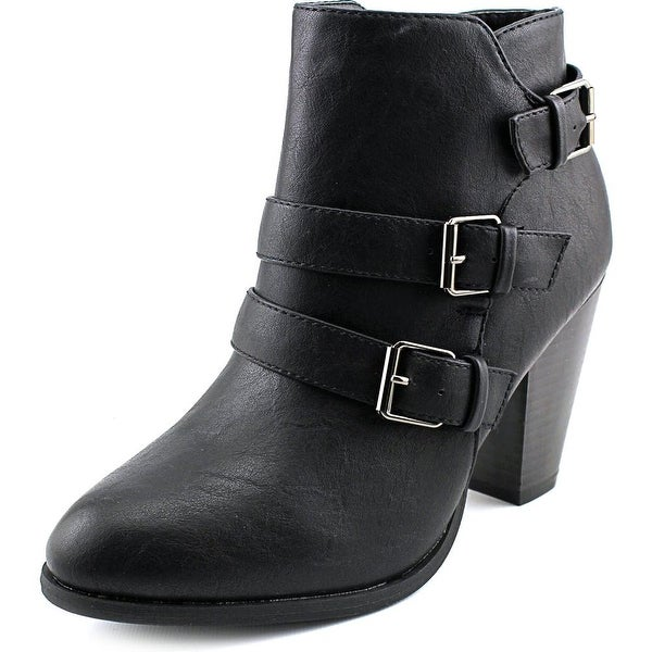 Forever 21 Camila-64 Round Toe Synthetic Ankle Boot