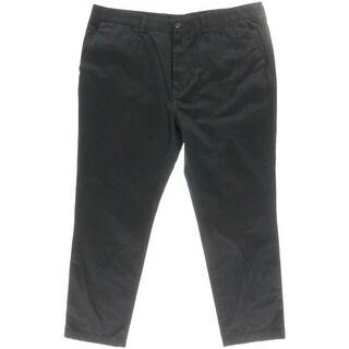 Nautica Mens Big & Tall The Chilmark Pant Dress Pants Cotton Flat Front