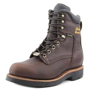 "Chippewa 25225 D 8"" Waterproof Men Plain Toe Leather Work Boot"