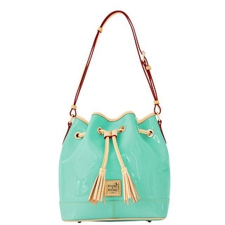 Dooney & Bourke Patent Drawstring (Introduced by Dooney & Bourke at $228 in Jan 2012) - Celery