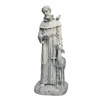 Design Toscano Saint Francis of Assisi, Patron Saint of Animals Garden Statue