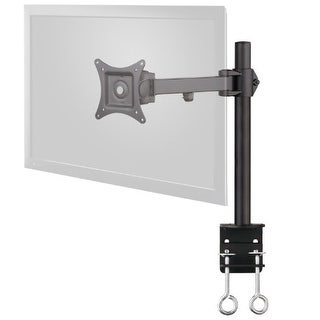 Siig Tilt/Swivel/Rotate Single Extend Desk Mount For 13 To 27 Inches Monitor, Black (Ce-Mt0n11-S1)