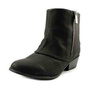 Jessica Simpson Starlet Youth Round Toe Synthetic Black Western Boot