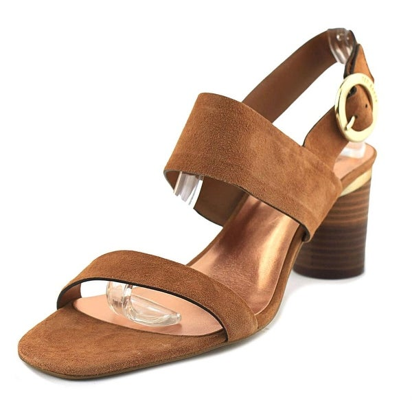 42d79eb62a04e Shop Ted Baker Azmara Women Open Toe Suede Tan Sandals - Free ...