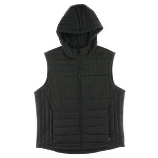 Perry Ellis Mens Vest Quilted Puffer