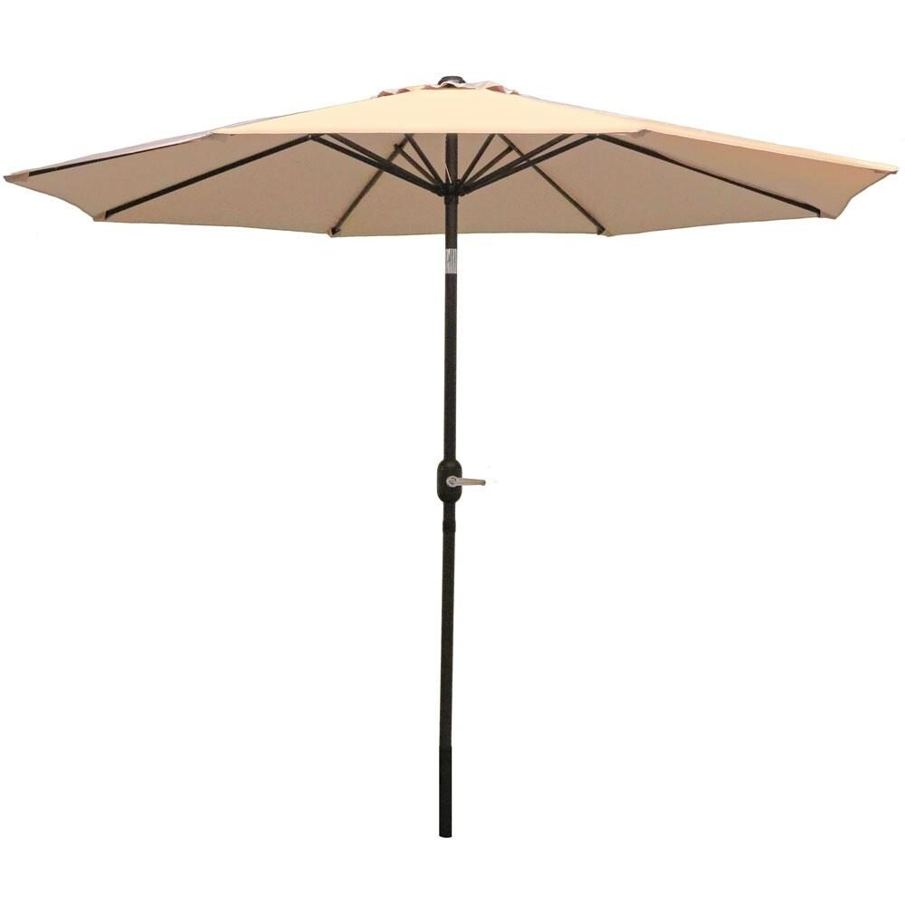 Sunnydaze Aluminum 9 Foot Patio Umbrella with Tilt & Crank - Thumbnail 45