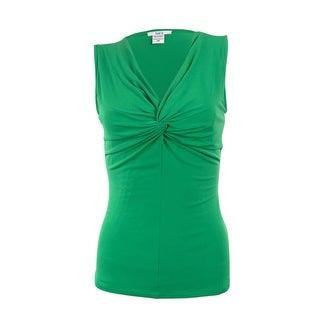 Bar III Women's Lagos Twist Jersey Blouse
