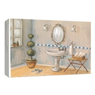 """PTM Images 9-153746  PTM Canvas Collection 8"""" x 10"""" - """"Cool Bath II"""" Giclee Bathroom Art Print on Canvas"""