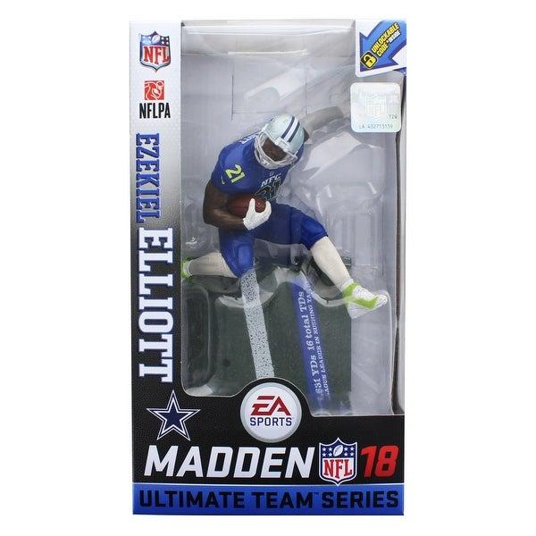 7e3ed9cbdce Shop Dallas Cowboys NFL Madden 18 Series 2 Figure: Ezekiel Elliott (Pro  Bowl Chase) - multi - Free Shipping Today - Overstock - 20785919