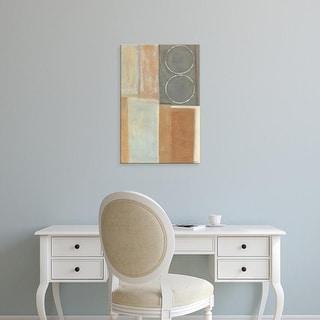 Easy Art Prints Norman Wyatt's 'Nickel and Earth II' Premium Canvas Art
