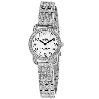 Coach Women's Delancey 14502655 White Dial watch