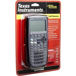 Texas Instruments - 89T/Clm - Ti 89 Graphing Calc Titanium