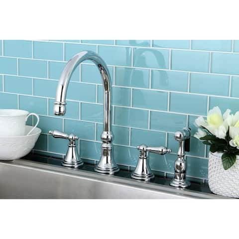 Governor Widespread Kitchen Faucet