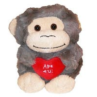 Animal Adventure Plush Toy Valentine Peepers W Red Heart