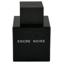 Encre Noire by Lalique Eau De Toilette Spray (Tester) 3.4 oz - Men