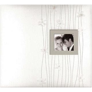 "K&Company Fabric Post Bound Window Album 12""X12"""