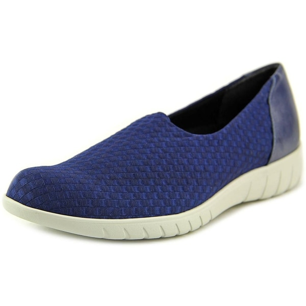 Munro American Cruise Women N/S Round Toe Synthetic Blue Loafer