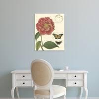 Easy Art Prints Vision Studio's 'Small Vintage Floral III' Premium Canvas Art