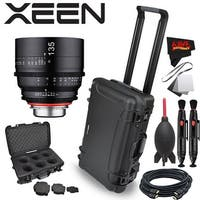 Rokinon Xeen 135mm T2.2 Lens with PL Mount with Rokinon Hardshell Carrying Case - black