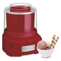 Cuisinart ICE21 Frozen Yogurt Ice Cream and Sorbet Maker - Red (Refurbished)