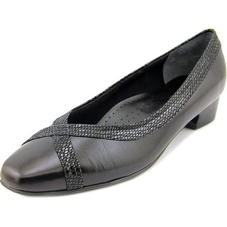 Mark Lemp By Walking Cradles Tracy N/S Round Toe Leather Heels