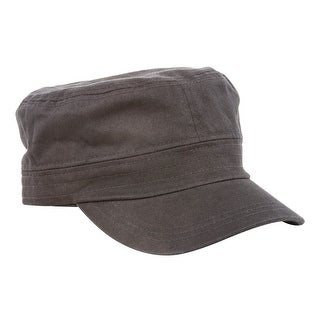 Trendy Military Fitted Cap- Black W32S36D