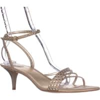 Nine West Lastage Dress Sandals, Light Gold