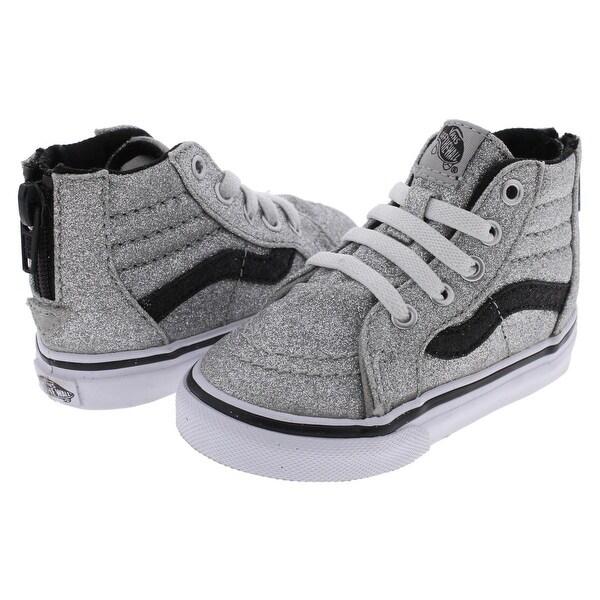 Shop Vans Girls SK8-HI Casual Shoes