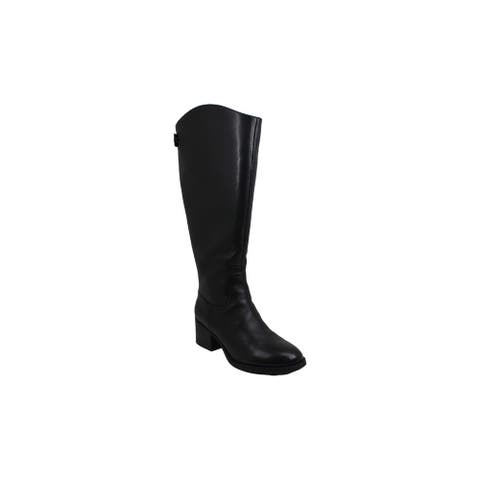 INC International Concepts Womens Ceriel Closed Toe Knee High Cold Weather Bo...