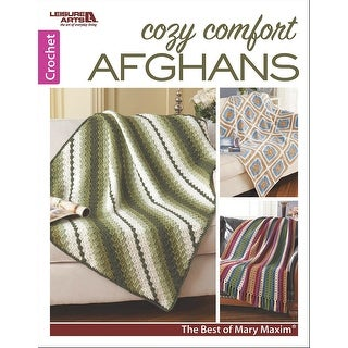 Leisure Arts-Cozy Comfort Afghans: Mary Maxim