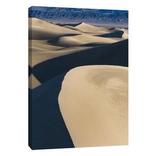 """PTM Images 9-105368  PTM Canvas Collection 10"""" x 8"""" - """"Death Valley Dunes 2"""" Giclee Deserts Art Print on Canvas"""