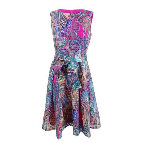 1368a9c8d88 Tommy Hilfiger Women s Paisley Fit   Flare Dress