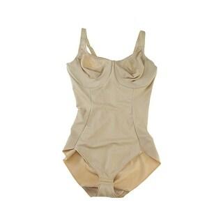 Naomi & Nicole Nude Firm Control Unbelievable Comfort Bodybriefer 36B