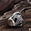 Vienna Jewelry The American Eagle Stainless Steel Ring - Thumbnail 1