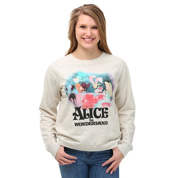 Shop Womens Alice In Wonderland Classic Tea Party Sweatshirt Free