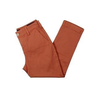 NYDJ Womens Petites Chino Pants Slimming Fit Relaxed - 4P