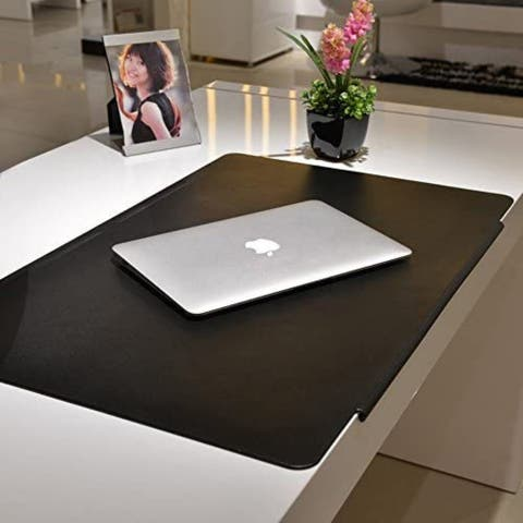 """28""""x17"""" Synthetic Leather Laptop Mat with Fixation Lip - 1pc"""
