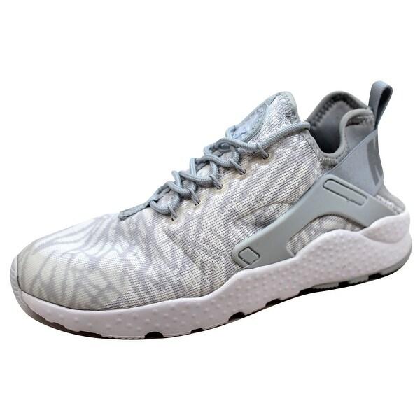 c38a1d53c41 Nike Women  x27 s Huarache Run Ultra KJCRD White Metallic Silver-Wolf