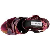 Steve Madden Womens Jodi Open Toe Special Occasion Platform Sandals