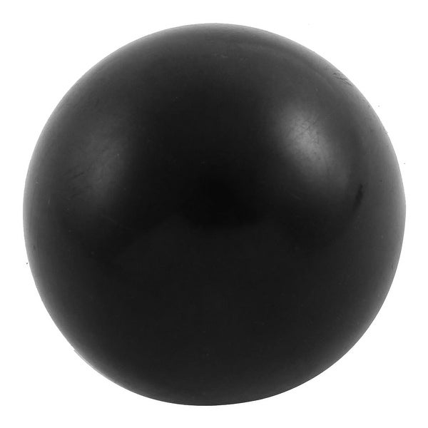 M10 x 20mm Female Thread Round 40mm Diameter Ball Lever Knob Black