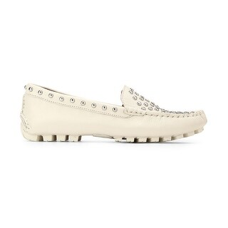 Coach Womens ARLENE STUDDED Leather Closed Toe Loafers