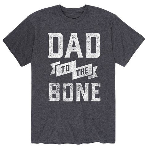 Dad to The Bone - Gift For Mom Fathers Day Adult Short Sleeve Tee